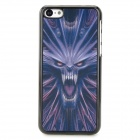 3D Monster Pattern ABS + PC Back Case for Iphone 5C - Multicolored