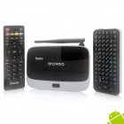 Jesurun DX05 Quad-Core Android 4.2.2 Google TV Player w/ 2GB RAM, 8GB ROM + Russian Air Mouse -Black
