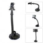 Fat Cat M-FS Flexible Snake Tube Suction Mount for GOPRO HERO 3+ / 3 / 2 / 1 + Universal Cameras