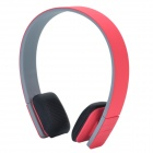 LC-8200 Bluetooth V3.0 + EDR Stereo Headset Headphones - Red + Grey + Black
