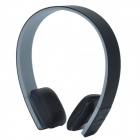 Bluetooth V3.0 + EDR Stereo Headset Headphones - Grey + Black