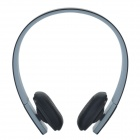 Bluetooth V3.0 + EDR Stereo Headset auriculares - gris + negro