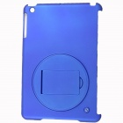 Protective Plastic Back Case Stand Holder for Ipad MINI - Blue