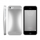 HOTGO Protective Aluminum Alloy Back Case for Iphone 5 / 5s - Silver