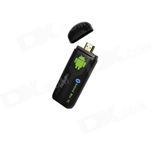 Ourspop U73 Quad-Core Android 4.2.2 Google TV Player w/ 2GB RAM, 8GB ROM, Wi-Fi, HDMI, TF - Black