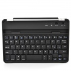 Stylish Bluetooth V3.0 59-Key Keyboard w/ Magnetic Slot for Ipad MINI - Black + Silver