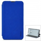 PUDINI WB-L625 Protective Flip Open PU + PC Case w/ Stand for Nokia Lumia 625 - Blue