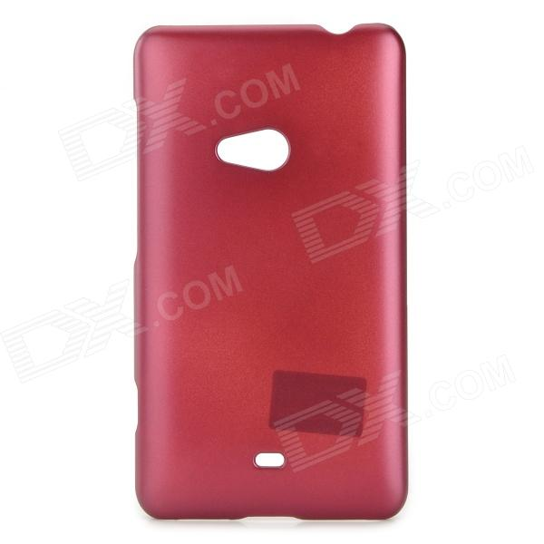 PUDINI WB-L625 Stylish Simple Plain Lacquer Coating Plastic Back Case for Nokia Lumia 625 - Dark Red куплю в краснодаре nokia 8800 sirocco dark