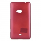 PUDINI WB-L625 Stylish Simple Plain Lacquer Coating Plastic Back Case for Nokia Lumia 625 - Dark Red