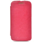 PUDINI WB-Moto X Stylish Flip-open PU Leather Case for Motorola Moto X Phone - Deep Pink