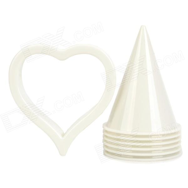 Calla Lily Former Cup Cake Flower Cutter Icing Sugarcraft Fondant Tool Set allenjoy photography backdrops library bookshelf school student study room books photocall baby shower