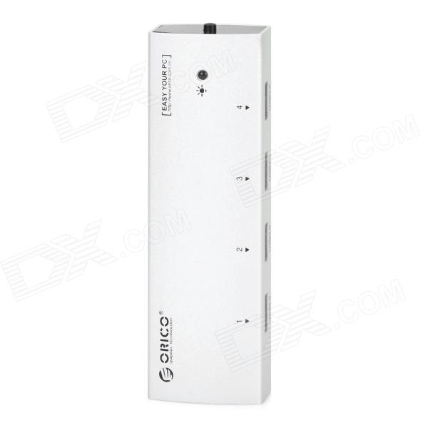 Orico AS4P-U3P Super Speed Aluminum Alloy USB 3.0 4-Port Hub - Silvery Grey - DXUSB Hubs &amp; Switches<br>Brand Orico Model AS4P-U3P Quantity 1 Color Silvery grey Material Aluminum alloy Connector Type USB 3.0 Port Number 4 Spacing 1.2cm Transmission Rate 5Gbps Power Supply USB Supports System Windows 2000 / XP / Vista / 7 Other Supports USB flash drive HDD card reader cellphone MP3 / MP4 etc. Packing List 1 x Hub 1 x USB 3.0 cable (60cm) 1 x USB 2.0 cable (70cm) 1 x Chinese / English user manual<br>
