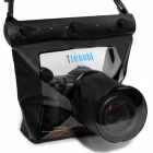 Tteoobl T-518L Universal 20m Diving Waterproof Protective Bag for Digital SLR Camera - Black
