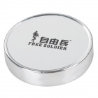 Free Soldier Outdoor Portable Analog Compass - Silver