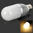 YouOkLight E27 10W 800lm 3500K 54-2835 Warm White Light Corn Light - Silver + White (AC 110~250V)