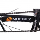 NUCKILY Water Resistant Neoprene Bicycle Chain Stay Protector / Guard - Black
