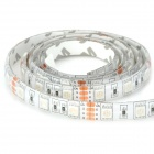 5050RGB 12W 200lm 60-LED Waterproof RGB Light Strip w/ Remote (1M)