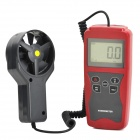 "NICETY AM821 2.3"" LCD Environmental Monitor / Measuring Anemometer - Dark Red + Deep Grey (1 x 9V)"