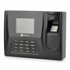 "Realand AC020 2.8"" TFT Color Screen Fingerprint Attendance Machine - Black"