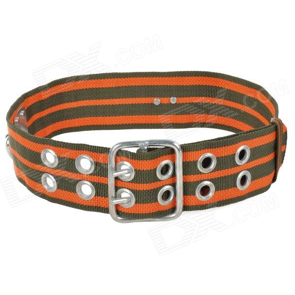 DXK Durable Chinlon + Stainless Steel Safety Waist Belt for Aloft Work / Rock Climbing