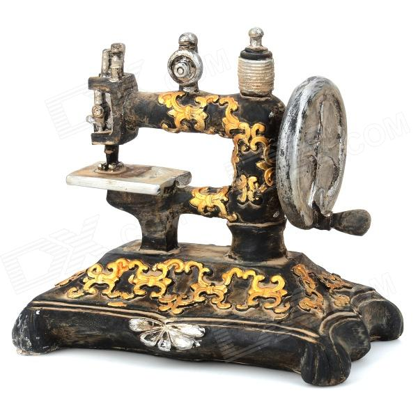 Retro Resin Sewing Machine Style Decoration Display Model Toy толстовка toy machine joe s style black