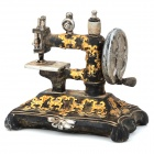 Retro Resin Sewing Machine Style Decoration Display Model Toy