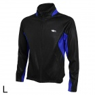 TOPCYCLING TOP202-203 Cycling Windproof Warm Fleece Jacket Coat for Men - Blue + Black (L)