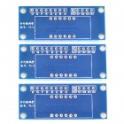 Parallel Digital PCB Microcontroller Module Blank Board Robot Electronic Building Blocks (3 PCS)