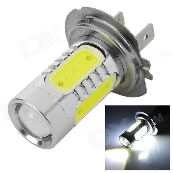 H7-11W-W H7 11W 350lm 6000K White Car Foglight w/ 1 x CREE XP-E + 4-LED (12~24V) h1 11w h1 11w 350lm white light car foglight w 1 cree xp e 4 led 12 24v
