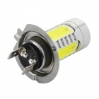 H7-11W-W H7 11W 350lm 6000K White Car Foglight w/ 1 x CREE XP-E + 4-LED (12~24V)
