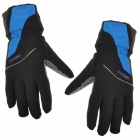 TOPCYCLING TOP902 Outdoor Full-finger Anti-slip Shock Absorbing Glove for Cycling - Blue + Black (L)