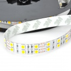 Dimmable Double-Row 144W 3800lm 600 x SMD 5050 LED Warm White Car Decoration light Strip - (5-Meter)
