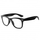 Ding Xing 2923 Plastic Glasses Frame for Men - Black