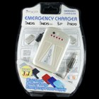 PSP Emergency Charger with Charge Display Milky White