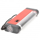 ZW Convenient Handheld UV Light Currency Detector w/ Torch - Red (4 x AA)