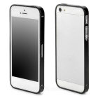 S-What Ultrathin Protective Aluminum Alloy Bumper Frame for Iphone 5 / 5s - Black