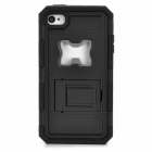 2-in-1 Cool Protective Case w/ Bottle Opener for Iphone 4 / 4S - Black