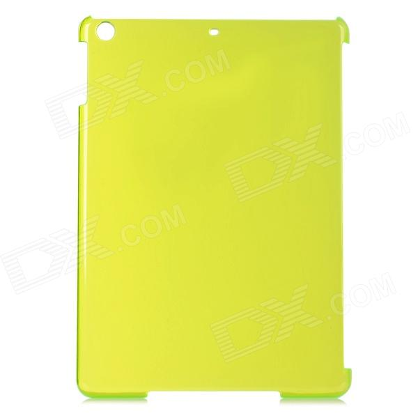 Protective Plastic Back Case for Ipad AIR - Green