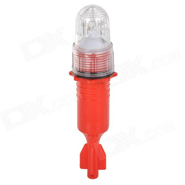 R-1.5V Night Attracting Fish Warning Light - Red (1 x Type-D Battery)
