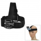 QT04 + K3 Nylon + Plastic + Stainless Steel Headband w/ Adapter Set for GoPro Hero 2 / 3 / SJ4000