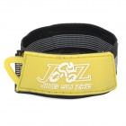 JSZ Outdoor Sports Clothes Tying Rubber Band Belt w/ Velcro - Yellow + Black