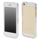 S-What Protective Ultra Thin Aluminium Alloy Bumper Frame for Iphone 5 / 5s - Silver