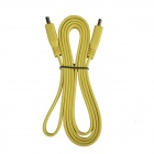 HDMI v1.4 Male to Male Flat Connection Cable - Yellow (152cm)