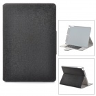 Protective Flip Open PU Leather Case w/ Stand / Card Slots for Ipad AIR - Black
