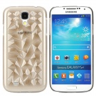 3D Magic Cube Pattern Protective PVC Back Case for Samsung S4 i9500 - Translucent Sepia
