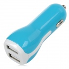 S-What YXT-SC065 Car Cigarette Powered Charging Adapter Charger for Iphone / Ipad / Ipod - Blue