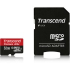 Transcend High Speed Micro SDHC Memory Card - Black + White (32GB / Class 10)