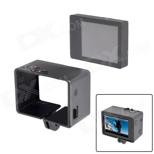Fat Cat B-PS Bacpac LCD Screen + Extension Frame Set for GoPro - Black