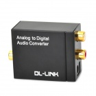 DL-LINK TS-AD01 Analog to Digital Audio Converter - Black
