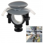 OQsport Multifunction Silicone + Aluminum Alloy Bike Holder for Cellphone / Camera + More - Black